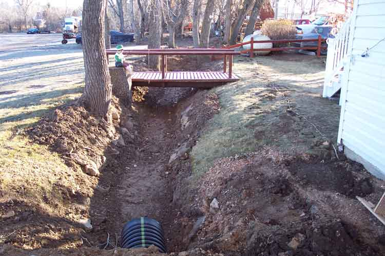 Irrigation Ditch Before